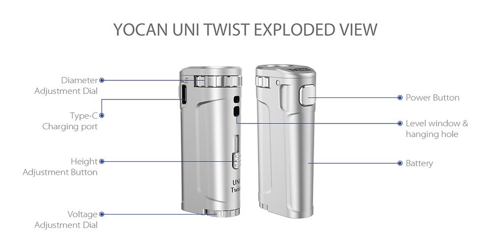 Yocan UNI Twist Kit